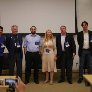 Moderating the Space Innovation Panel at SpaceApps Silicon Valley